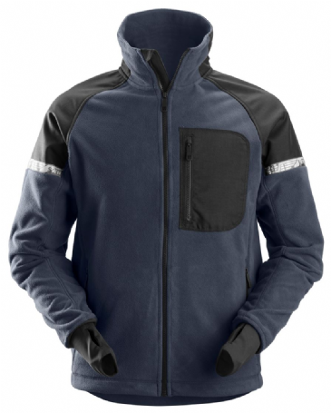 Snickers 8005 AllroundWork Windproof Fleece Jacket (Navy/Black)